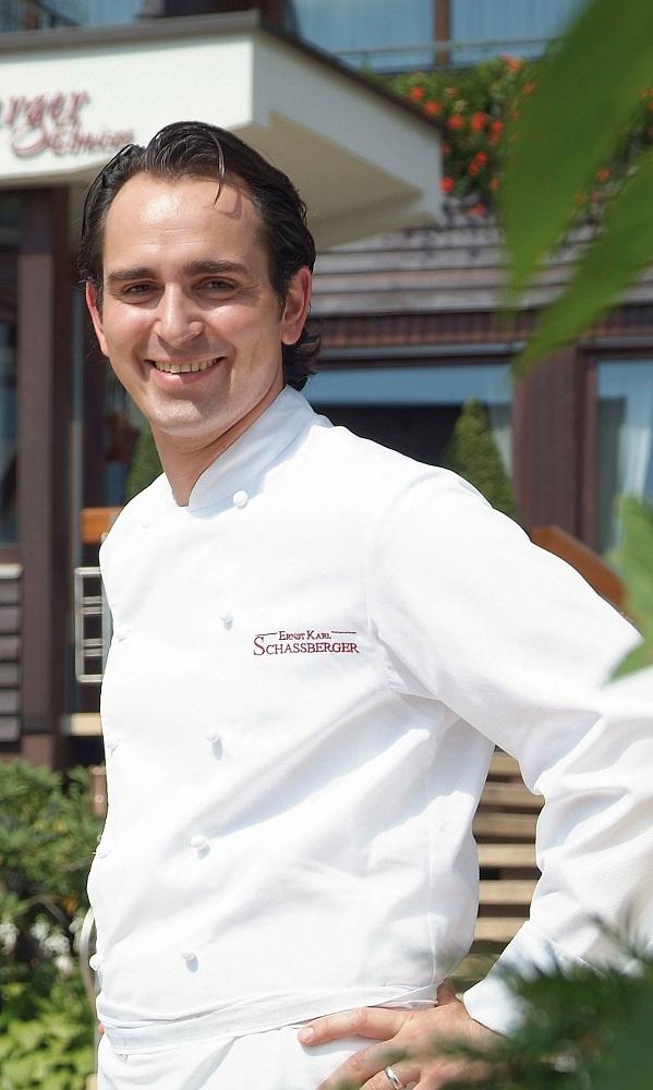 Küchenchef Ernst Karl Schassberger Romantik Hotels Restaurants